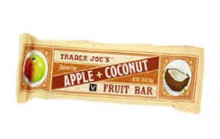 apple coconut bar