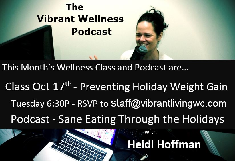 Preventing Holiday Weight Gain - Sane Eating