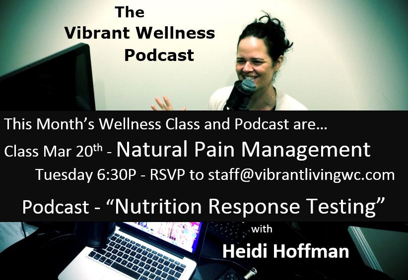 Nutrition Response Testing Podcast with Heidi Hoffman