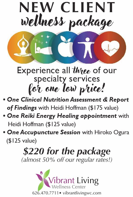 New Client Wellness Package